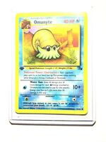 OMANYTE - 52/62 - 1st Edition Fossil - Common - Pokemon Card -  NM