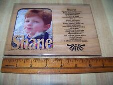 """""""Shane"""" Personality Profile Matte Picture Frame from Kitty Hawk Kites"""