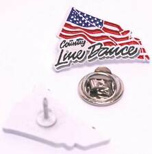 COUNTRY LINEDANCE PIN (PW 144)