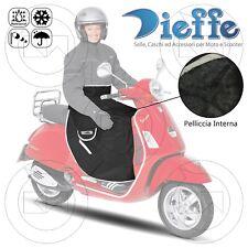 DIEFFE Coprigambe per Moto con Tasche Laterali - Nero