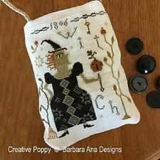 Witch Pumpkin~Barbara Ana Designs