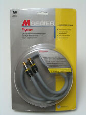 Monster M Series S-Video Cable M500sv 1M 1 Meter Brand New 【 Ships on 1/19 】