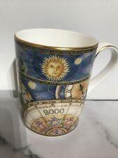 More details for royal doulton bone china millennium 2000 sun celestial commemorative mug