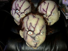 Chucky Mask Bride of Deluxe Costume Child's Play Vintage Collectable Mint Rare