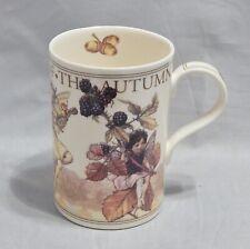 Cicely Mary Barker Flower Fairies Mug Queen's England The Autumn Fairies