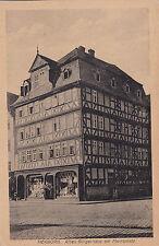 AK Herborn 1919 Bürgerhaus Marktplatz