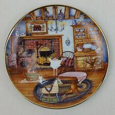 Saturday Night Bath Collector Plate Franklin Mint by Karyn Bell