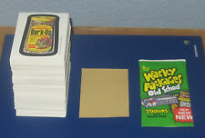 WACKY PACKAGES OLD SCHOOL 4 TAN BACK SINGLES  @@  PICK 3  @@     PACK FRESH