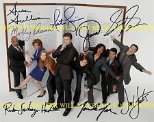 CASTLE FULL CAST SIGNED AUTOGRAPHED 8x10 RP PHOTO NATHAN FILLION STANA KATIC +
