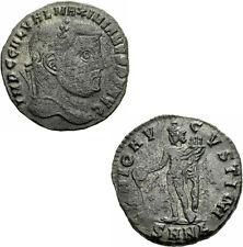 Galerius Follis Nicomedia 308-310 GENIO AVGVSTI CMH Genius Patera RIC 54 a / 66a