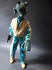 "Star Wars 12"" 1/6 scale Hasbro Greedo Action Figure Alien bounty hunter monster"
