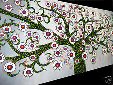 Aboriginal INSPIRED Tree Art Flower DOT painting Jane Crawford Australia