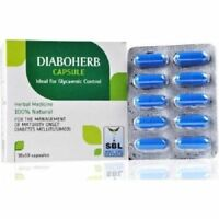 SBL Diaboherb Capsule for controlling blood sugar level 100Tab + Free Shipping