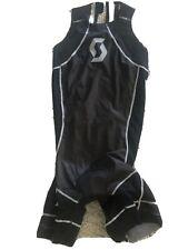Scott Plasma Tri Suit Black Medium Sleeveless Triathalon
