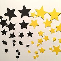 70 -100 Star Die cut Embellishment Paper piecing 4 Cards & Crafts