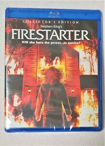 Firestarter:Collector`s Ed.(Blu ray,2017)NEW/SEALED Ra.scream factory.s.king