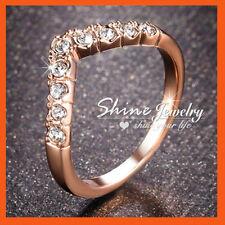 Diamond Band Rose Gold Filled 10k Fashion Rings