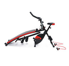 Multi Functional Home Aerobic Fitness Machine Ab Glider, Exercise Bike / Bench
