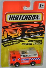 Matchbox 1993 Fast Lane #57 Mack Auxiliary Fire Rescue Power Truck MOC Tyco Toys