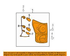 TOYOTA OEM 10-13 Tundra Taillight Tail Light-Rear-Combo Assy Right 815500C090