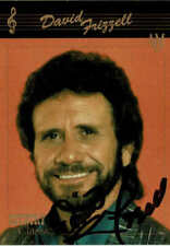 DAVID FRIZZELL - Country Singer - Autograph Trading Card