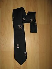Mickey Mouse Golf Tie - Vintage 1960s Walt Disney Productions Cervantes Neck Tie