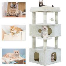 Cat Tree Cat Tower Cat Condo Playground Cage Kitten Medium Multi-level 48.8 inch
