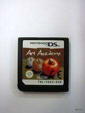 ART ACADEMY Nintendo Ds 3Ds Pal Used Usato Solo Cartuccia