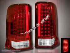 02-03 04 05 06 CADILLAC ESCALADE RED LED TAIL LIGHTS