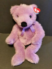 "1999 TY CLASSIC PLUSH 13"" Lilacbeary the Bear"