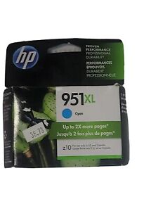 Genuine HP 951XL CN046AN OfficeJet Pro Color Ink Cartridges Cyan New In Box