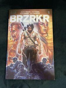 BERZERKER ( BRZRKR ) #1 MARK BROOKS FOIL VARIANT KEANU REEVES BOOM