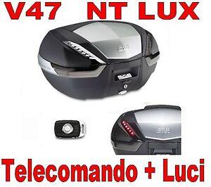 BAULETTO VALIGIA GIVI  V47NT LUX + TELECOMADO APERTURA + KIT LUCI  E132 + E135