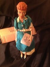 "I LOVE LUCY 15"" VINYL DOLL By Presents LUCILLE BALL LUCY RICARDO"