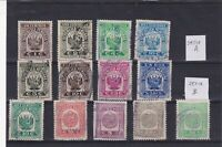 0235  Peru ( revenue) Nice lot of stamps see scan