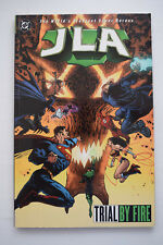 DC Comics JLA Justice League 'Trial by Fire' Softcover Graphic Novel Batman