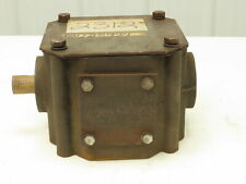 """2-Way Right Angle Gearbox 1:1 Ratio 1-3/8"""" Input/Output Same Direction"""