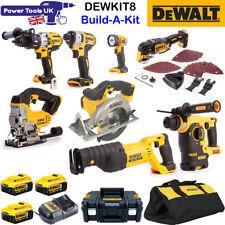 Dewalt DEWKIT8 8pc 18v 3x 5Ah XR Cordless Power Tool Kit