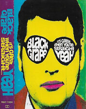 Black Grape It's Great When You're Straight.Yeah CASSETTE ALBUM Electronic Rock