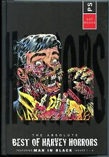 Absolute Best of Harvey Horrors/Man in Black Hardback