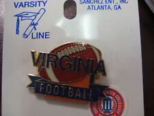 LOT of 35 PINS -University of Virginia Pin - Football