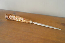 Antler  Letter Opener Knife -1, hand crafted, perfect for the gift.