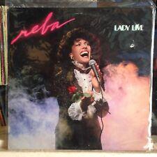 [ROCK/POP]~EXC LP~REBA RAMBO~Lady Live~{Original 1982~LIGHT~Issue]~