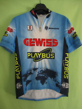 Maillot cycliste Gewiss Playbus Tour 1996 vintage Bianchi jersey Cycling - 4 / L