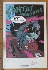 Ex-Libris Schwartz - Spirou et Fantasio - Fantasmagories - n&s