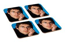 Louis Theroux Awkward 4 Piece Wooden Coaster Set