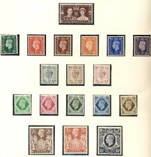 Great Britain Collection 1937-1989, two Lindner Albums, Mint, Scott $2,569.00