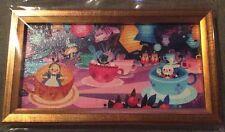 Disney Mini Print - Wonderground Gallery - Alice In Wonderland  - Tea Cups