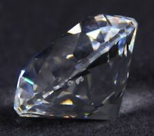 "1990 Swarovski Crystal Scmr90 Renewal Chaton Diamond Shape Ltd Ed 1.25""D"