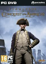 Commander Conquest of the Americas (PC DVD) BRAND NEW SEALED
